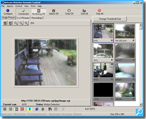 IP Camera Software - Netcam Watcher Professional